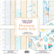 "12"" x 12"" paper pad - Dreamy Baby Boy - Crafty Wizard"