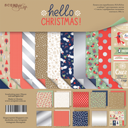 "12"" x 12"" paper pad - Hello Christmas - Crafty Wizard"