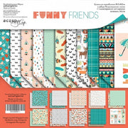 "12"" x 12"" paper pad - Funny Friends - Crafty Wizard"