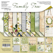 "12"" x 12"" paper pad - Family Tree - Crafty Wizard"