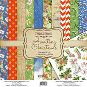 "12"" x 12"" paper pad - Awaiting Christmas - Crafty Wizard"