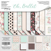 "12"" x 12"" paper pad - Oh, Ballet - Crafty Wizard"