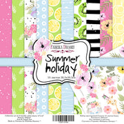 "12"" x 12"" paper pad - Summer Holiday - Crafty Wizard"