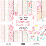 "12"" x 12"" paper pad - Dreamy Baby Girl - Crafty Wizard"