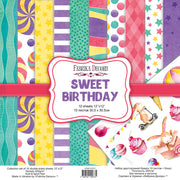 "12"" x 12"" paper pad - Sweet Birthday - Crafty Wizard"