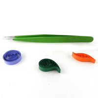 Ultra fine tip, steel quilling tweezers - Crafty Wizard
