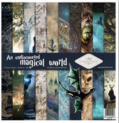 "11.8"" x 12.1"" paper pad - An undiscovered magical world"
