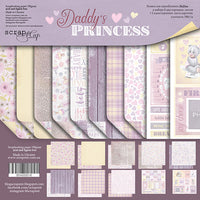 "8"" x 8"" paper pad - Daddy's Princess - Crafty Wizard"