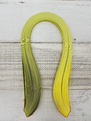 Graduated lime green to yellow - Crafty Wizard