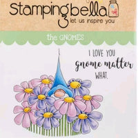 Stamping Bella  - Gnome Bouquet - Rubber Stamp Set