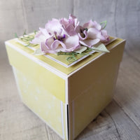 GoatBox Exploding box - eco craft - Crafty Wizard