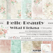 "8"" x 8"" paper pad - Hello Beauty"