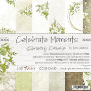 "8"" x 8"" paper pad - Celebrate Moments - Crafty Wizard"