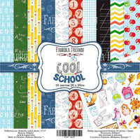 "8"" x 8"" paper pad - Cool School - Crafty Wizard"