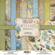 "8"" x 8"" paper pad - Botany Spring - Crafty Wizard"