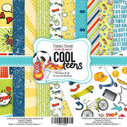"8"" x 8"" paper pad - Cool Teens - Crafty Wizard"