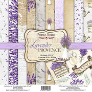 "12"" x 12"" paper pad - Lavender Provence - Crafty Wizard"