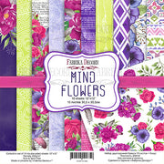 "12"" x 12"" paper pad - Mind Flowers - Crafty Wizard"