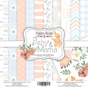 "12"" x 12"" paper pad - Baby & Mama - Crafty Wizard"