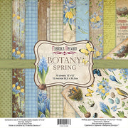 "12"" x 12"" paper pad - Botany Spring - Crafty Wizard"