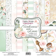 "12"" x 12"" paper pad - Tenderness & Love - Crafty Wizard"