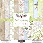 "12"" x 12"" paper pad - Smile of Spring - Crafty Wizard"