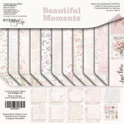"12"" x 12"" paper pad - Beautiful Moments - Crafty Wizard"