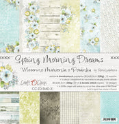 "12"" x 12"" paper pad - Spring Morning Dreams - Crafty Wizard"