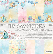 "12"" x 12"" paper pad - The Sweetsters - Crafty Wizard"
