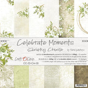 "12"" x 12"" paper pad - Celebrate Moments - Crafty Wizard"