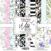 "12"" x 12"" paper pad - Wild Orchid - Crafty Wizard"