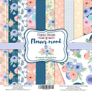 "12"" x 12"" paper pad - Flower Mood - Crafty Wizard"
