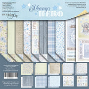"12"" x 12"" paper pad - Mommy's Hero - Crafty Wizard"