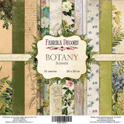 "8"" x 8"" paper pad - Botany Summer - Crafty Wizard"