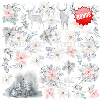 "12"" x 12"" paper pad - Winter Melody - Crafty Wizard"