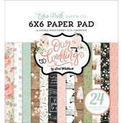 "6"" x 6"" paper pad - Our Wedding"