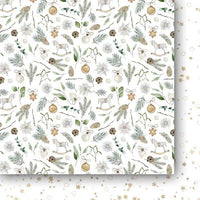 "6"" x 6"" paper pad - White as Snow"