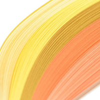5 shades of pastel yellow and orange - Crafty Wizard