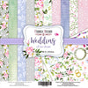 "12"" x 12"" paper pad - Wedding of our dream - Crafty Wizard"