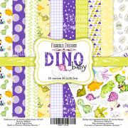 "12"" x 12"" paper pad - Dino baby - Crafty Wizard"
