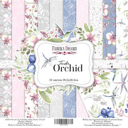 "12"" x 12"" paper pad - Tender Orchid - Crafty Wizard"
