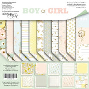 "8"" x 8"" paper pad - Boy or Girl - Crafty Wizard"