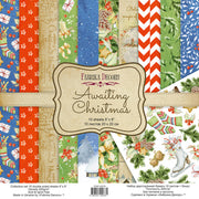 "8"" x 8"" paper pad - Awaiting Christmas - Crafty Wizard"