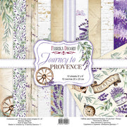 "8"" x 8"" paper pad - Journey to Provence"