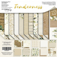 "8"" x 8"" paper pad - Tenderness - Crafty Wizard"