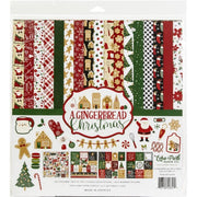 "12"" x 12"" paper pad - A Gingerbread Christmas"