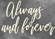 Always and forever - Crafty Wizard