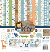 "12"" x 12"" paper pad - Baby Boy - Crafty Wizard"