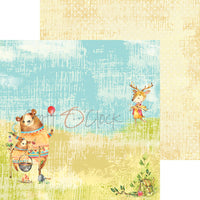 "8"" x 8"" paper pad - Summertime Picnic - Crafty Wizard"