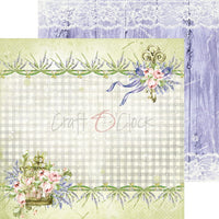"8"" x 8"" paper pad - Lavender Bliss - Crafty Wizard"